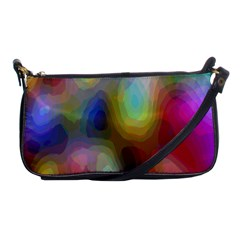 A Mix Of Colors In An Abstract Blend For A Background Shoulder Clutch Bags