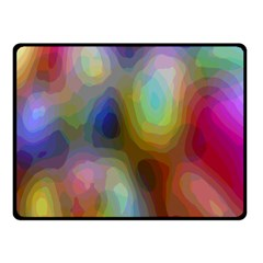 A Mix Of Colors In An Abstract Blend For A Background Fleece Blanket (small)