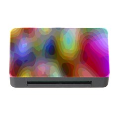 A Mix Of Colors In An Abstract Blend For A Background Memory Card Reader With Cf