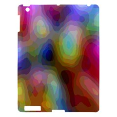 A Mix Of Colors In An Abstract Blend For A Background Apple Ipad 3/4 Hardshell Case