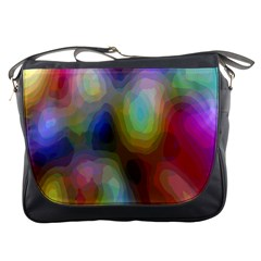 A Mix Of Colors In An Abstract Blend For A Background Messenger Bags