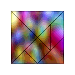 A Mix Of Colors In An Abstract Blend For A Background Acrylic Tangram Puzzle (4  X 4 )
