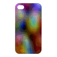 A Mix Of Colors In An Abstract Blend For A Background Apple Iphone 4/4s Premium Hardshell Case