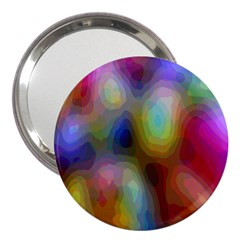 A Mix Of Colors In An Abstract Blend For A Background 3  Handbag Mirrors
