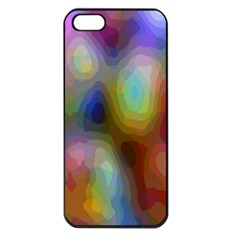 A Mix Of Colors In An Abstract Blend For A Background Apple iPhone 5 Seamless Case (Black)