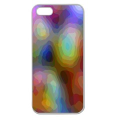 A Mix Of Colors In An Abstract Blend For A Background Apple Seamless Iphone 5 Case (clear)