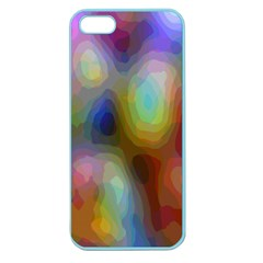 A Mix Of Colors In An Abstract Blend For A Background Apple Seamless Iphone 5 Case (color)
