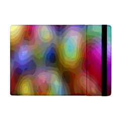 A Mix Of Colors In An Abstract Blend For A Background Apple iPad Mini Flip Case