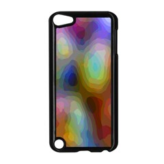 A Mix Of Colors In An Abstract Blend For A Background Apple Ipod Touch 5 Case (black)