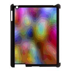 A Mix Of Colors In An Abstract Blend For A Background Apple Ipad 3/4 Case (black)