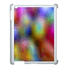 A Mix Of Colors In An Abstract Blend For A Background Apple Ipad 3/4 Case (white)