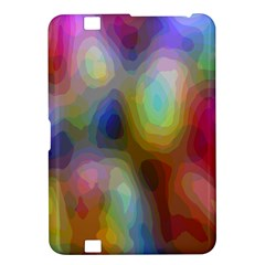 A Mix Of Colors In An Abstract Blend For A Background Kindle Fire Hd 8 9