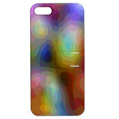 A Mix Of Colors In An Abstract Blend For A Background Apple Iphone 5 Hardshell Case With Stand