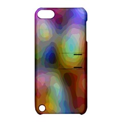 A Mix Of Colors In An Abstract Blend For A Background Apple Ipod Touch 5 Hardshell Case With Stand