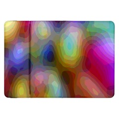 A Mix Of Colors In An Abstract Blend For A Background Samsung Galaxy Tab 8.9  P7300 Flip Case