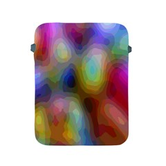 A Mix Of Colors In An Abstract Blend For A Background Apple Ipad 2/3/4 Protective Soft Cases