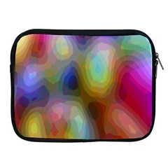 A Mix Of Colors In An Abstract Blend For A Background Apple Ipad 2/3/4 Zipper Cases