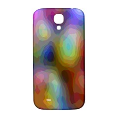 A Mix Of Colors In An Abstract Blend For A Background Samsung Galaxy S4 I9500/i9505  Hardshell Back Case