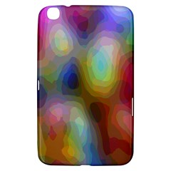 A Mix Of Colors In An Abstract Blend For A Background Samsung Galaxy Tab 3 (8 ) T3100 Hardshell Case