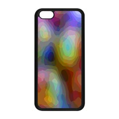 A Mix Of Colors In An Abstract Blend For A Background Apple Iphone 5c Seamless Case (black)