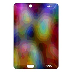 A Mix Of Colors In An Abstract Blend For A Background Amazon Kindle Fire Hd (2013) Hardshell Case