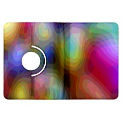 A Mix Of Colors In An Abstract Blend For A Background Kindle Fire Hdx Flip 360 Case