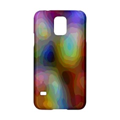 A Mix Of Colors In An Abstract Blend For A Background Samsung Galaxy S5 Hardshell Case