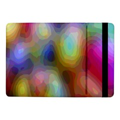 A Mix Of Colors In An Abstract Blend For A Background Samsung Galaxy Tab Pro 10.1  Flip Case