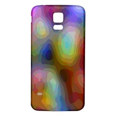 A Mix Of Colors In An Abstract Blend For A Background Samsung Galaxy S5 Back Case (white)