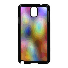 A Mix Of Colors In An Abstract Blend For A Background Samsung Galaxy Note 3 Neo Hardshell Case (black)