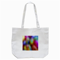 A Mix Of Colors In An Abstract Blend For A Background Tote Bag (white)