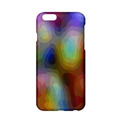A Mix Of Colors In An Abstract Blend For A Background Apple iPhone 6/6S Hardshell Case