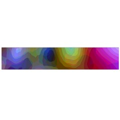 A Mix Of Colors In An Abstract Blend For A Background Flano Scarf (large)