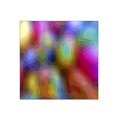 A Mix Of Colors In An Abstract Blend For A Background Satin Bandana Scarf