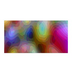 A Mix Of Colors In An Abstract Blend For A Background Satin Wrap