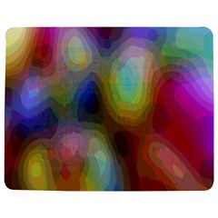 A Mix Of Colors In An Abstract Blend For A Background Jigsaw Puzzle Photo Stand (rectangular)