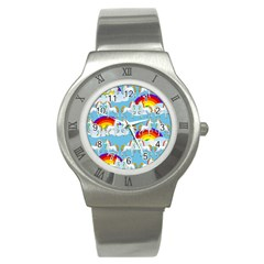 Rainbow pony  Stainless Steel Watch
