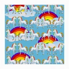 Rainbow pony  Medium Glasses Cloth (2-Side)
