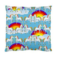 Rainbow pony  Standard Cushion Case (Two Sides)
