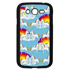 Rainbow pony  Samsung Galaxy Grand DUOS I9082 Case (Black)