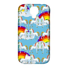 Rainbow pony  Samsung Galaxy S4 Classic Hardshell Case (PC+Silicone)