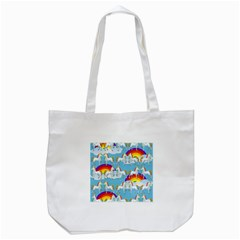 Rainbow pony  Tote Bag (White)