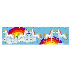 Rainbow pony  Satin Scarf (Oblong)