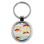 Rainbow pony  Key Chains (Round)  Front