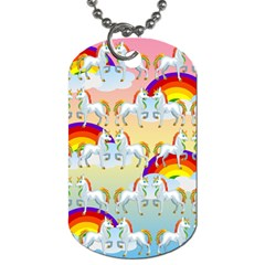 Rainbow pony  Dog Tag (Two Sides)