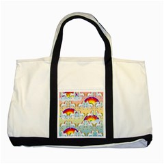 Rainbow pony  Two Tone Tote Bag