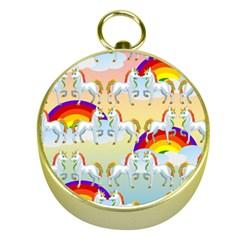 Rainbow pony  Gold Compasses
