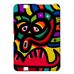 A Seamless Crazy Face Doodle Pattern Kindle Fire Hd 8 9