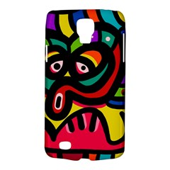 A Seamless Crazy Face Doodle Pattern Galaxy S4 Active