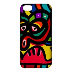 A Seamless Crazy Face Doodle Pattern Apple Iphone 5c Hardshell Case